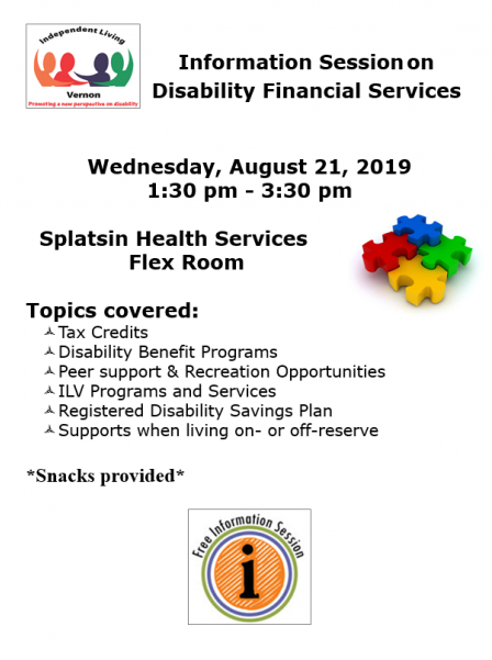 Disabilities Information Session